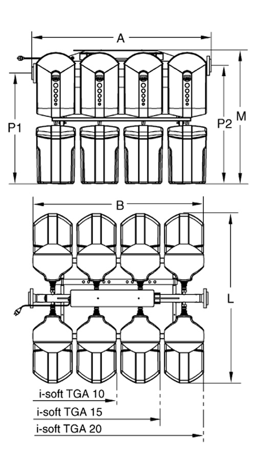 габаритные размеры и схема isoft 10-20